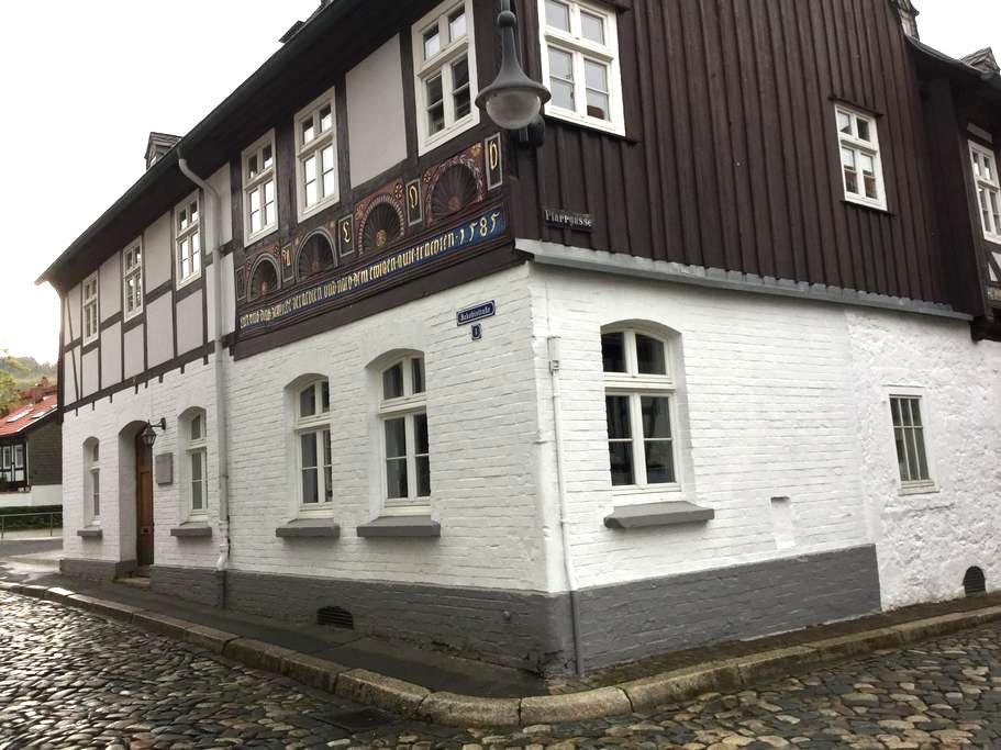 Im 440Jahre alten Haus Gemütlichkei - Goslar - Lejlighedskompleks