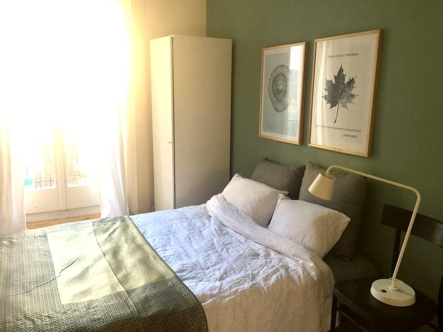 cosy room in nice atelier-apartment - Biel/Bienne - Kondominium