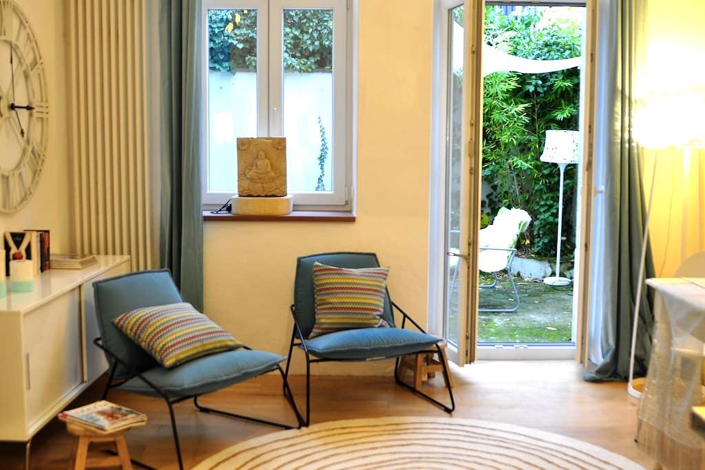 Gartenwohnung in Jugendstilvilla - Heidelberg - Apartemen