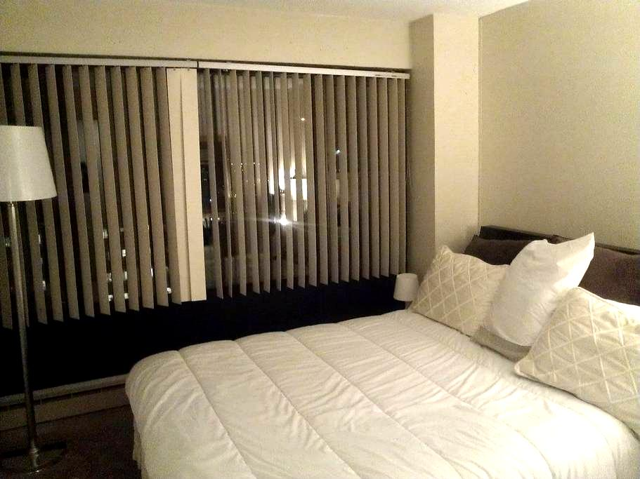 Cozy, high-rise room, stunning view - Boston - Appartement en résidence