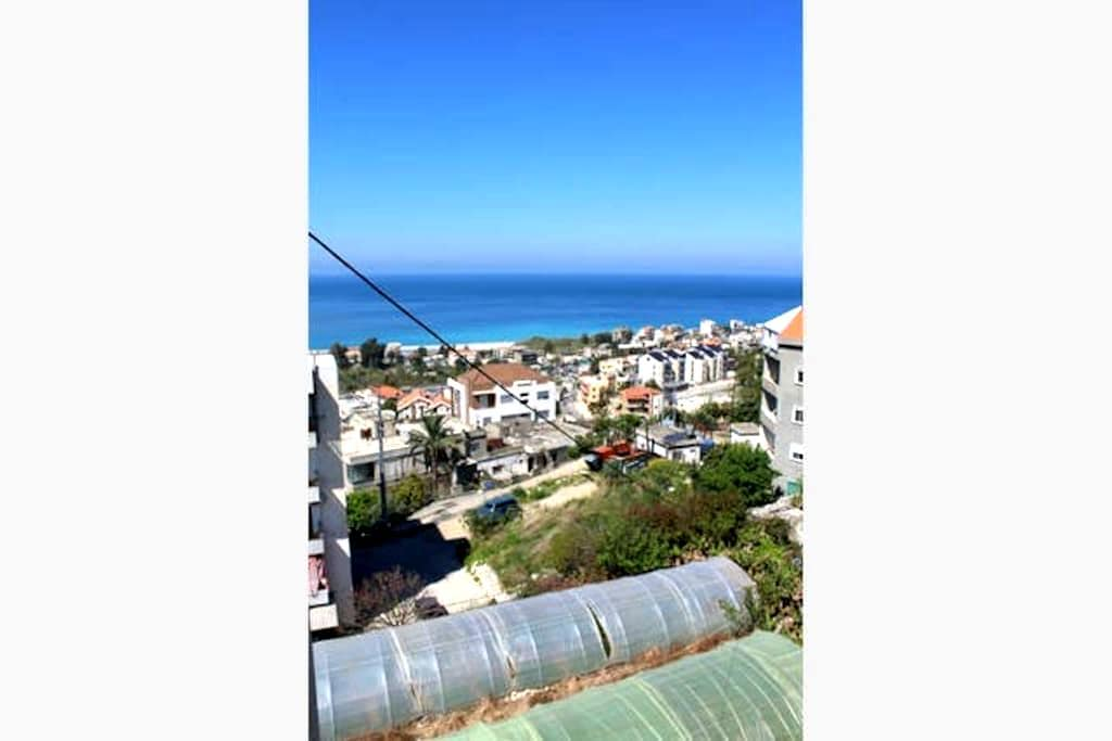 Maria's nice studio with beautiful sea view! - Beirut - Departamento