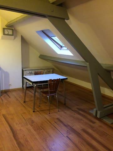 studio meuble avec parking privé - Cuincy - Apartamento