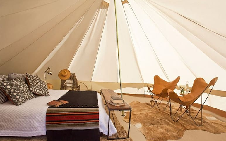 Base Camp: Luxury Furnished Tent by Shelter-Co - Thermal