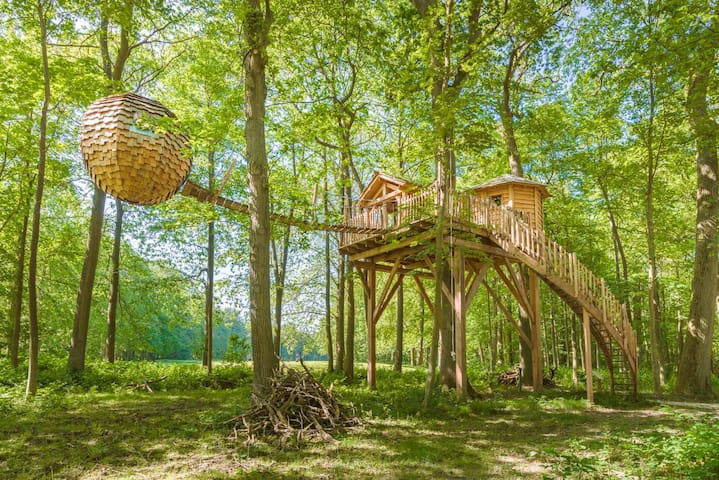 Cabane Lov'nid SPA Zen pour 2 personnes - Raray - Puumaja