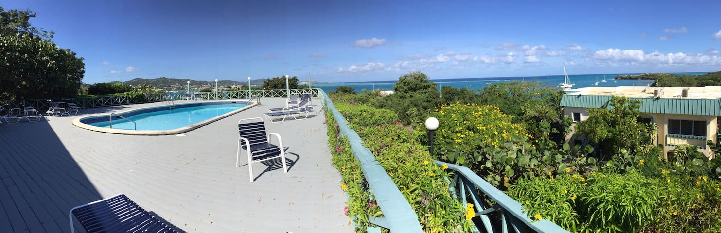 Breezy, Cozy, Beautiful View 1 Rm - Christiansted
