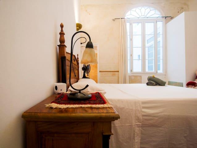 (2) Habitación casa antigua-baño privado en suite - Maó-Mahón - Rumah