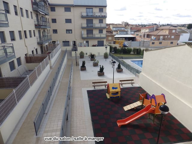 Appartement avec piscine privé - Caspe - Wohnung