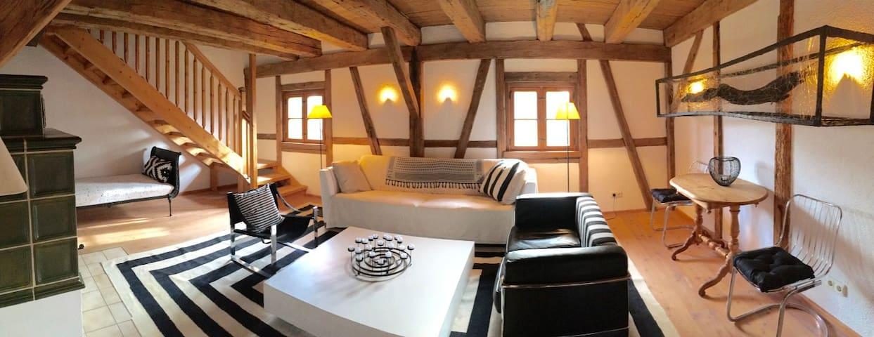 gemütlich - voll ausgestattet - perfekt gelegen - Holzkirchen - Departamento