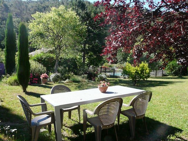 Coquet T2 calme piscine  jardin - Saint-Zacharie - Dom