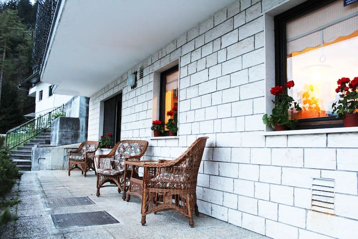 VIKSI Bled cozy room/terrace amazing view - Bled - Rumah