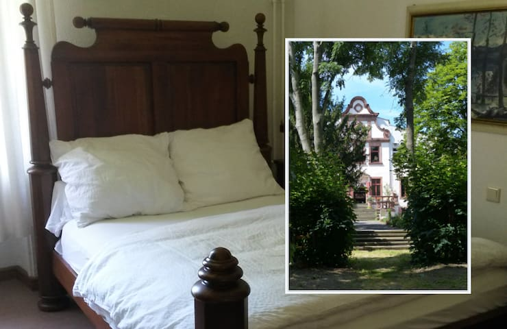 Herrenhaus Schmölen - Doppelzimmer / double rooms - Bennewitz - Linna