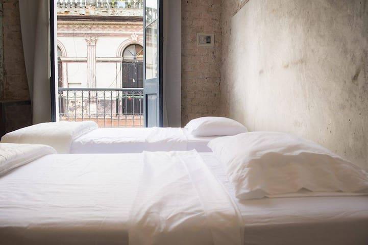 Room 8 of Animas 303, Havana, Hotelito (Balcony) - La Habana