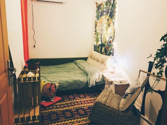 欢迎你来吃我做的饭睡我的猫躺我的床来一野摄影师与疯造型师的家 - Hangzhou - Apartmen