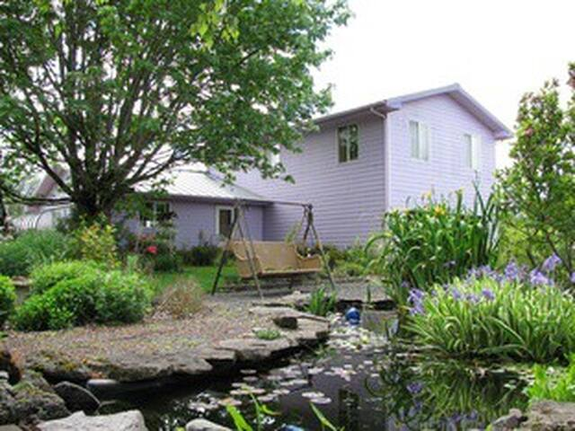 Beautiful house on 25 acre organic farm nr. Eugene - Pleasant Hill - Casa