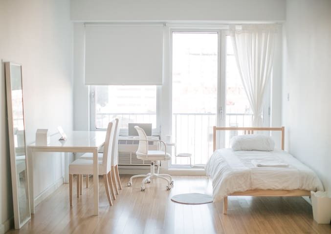 White space with 0min to bus stop - Brooklyn - Appartement