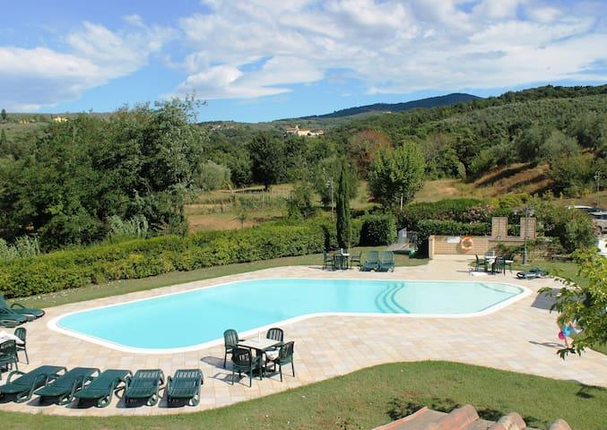 Appartamento vicino Firenze - 4 persone - Capraia e limite - Appartement