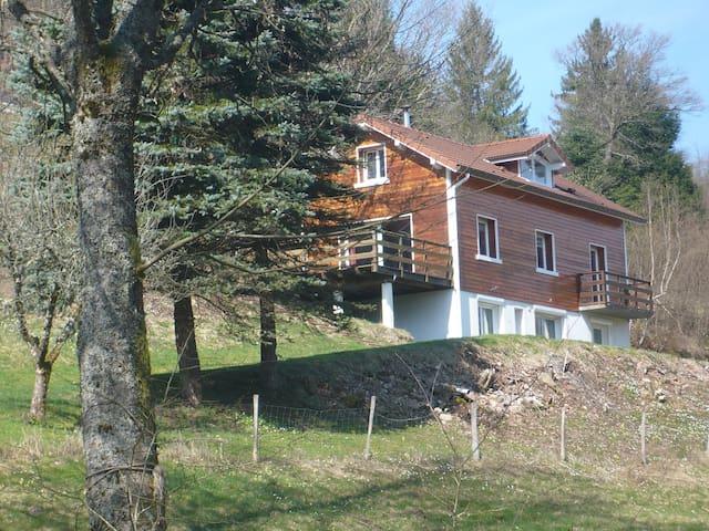 chambre d'hotes sur le massif vosgien - Fresse-sur-Moselle - Casa