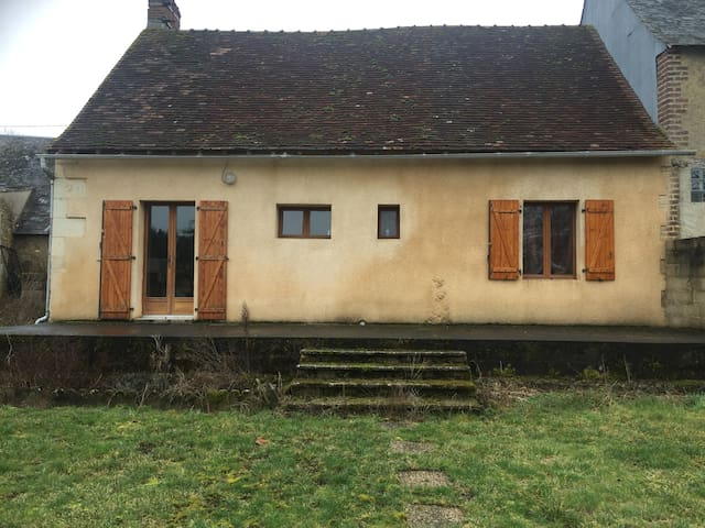 Gîte rural au coeur d'un hameau - Vancé - 自然小屋