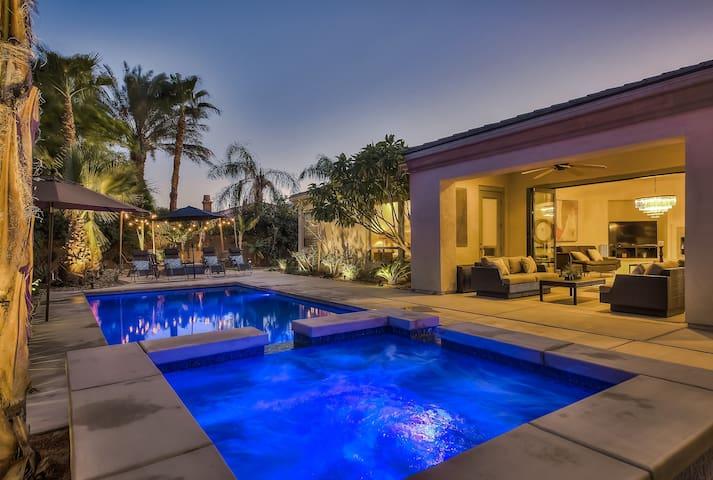 'Escala' Pool, Spa, Fire Pit, 5 Bed, Sleeps 14 - Indio - Casa