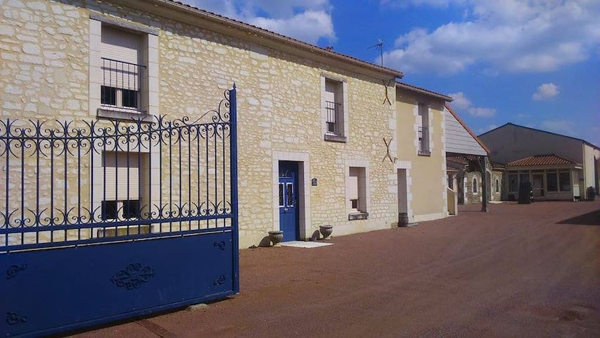 Les Loges de Vignes - Domaine du Vieux Pressoir - Vaudelnay - Casa