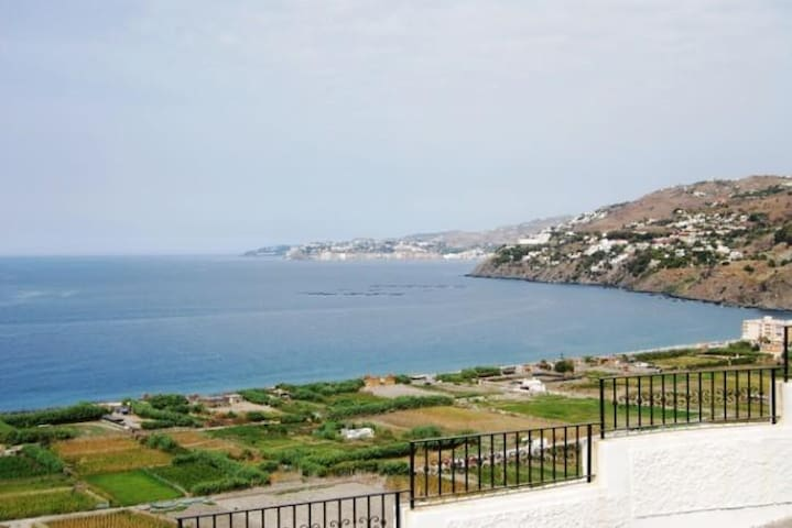 Traditional Spanish Home with Fabulous sea views!! - Salobreña - Apartament