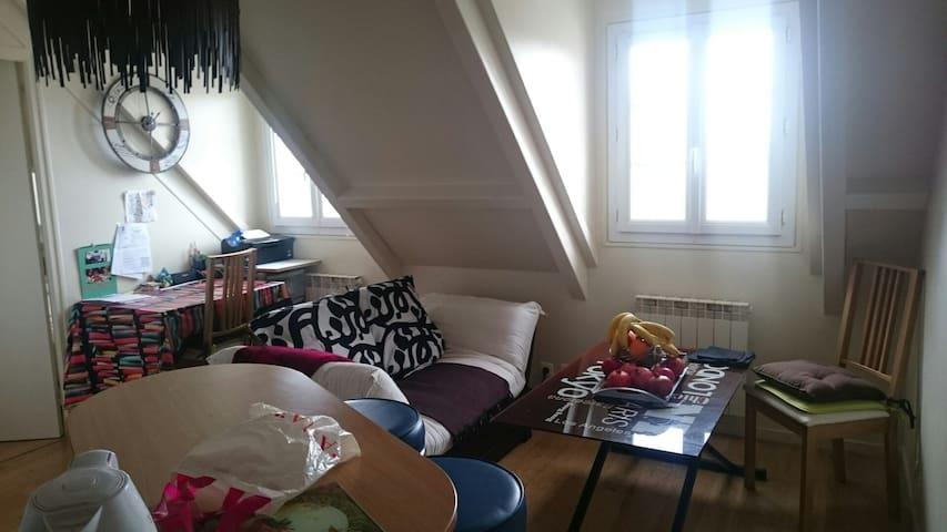 T2centre de Melun, proche toute commodité & calme - Melun - Lägenhet