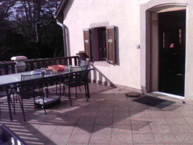 Charming house near Obernai in a wine village - Ottrott - Huis