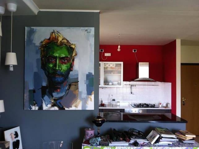 Home art studio - Prevalle - Leilighet