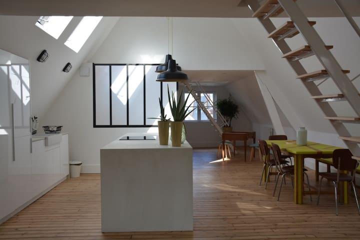 L'entre deux places - Arras - Apartament