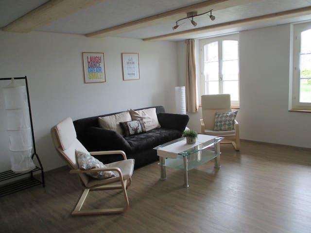 Helle schöne Wohnung in Auswil - Auswil - Lägenhet