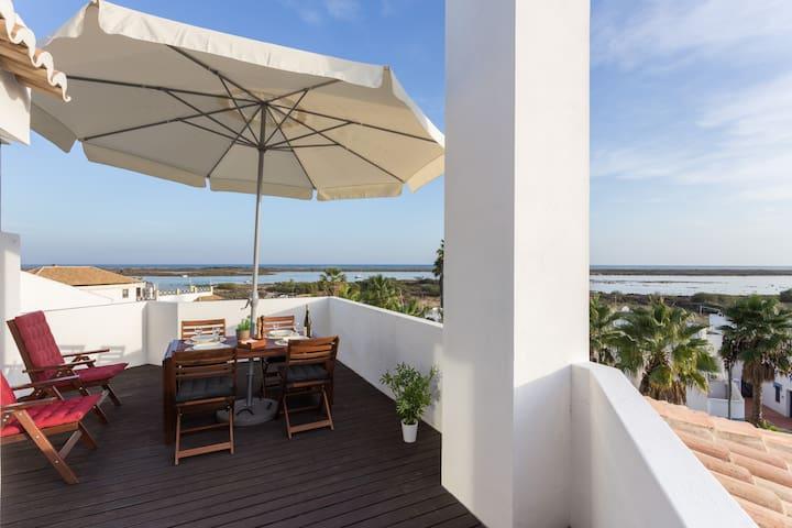 Unique Studio With The Most Beautiful Sea View - Тавира - Квартира