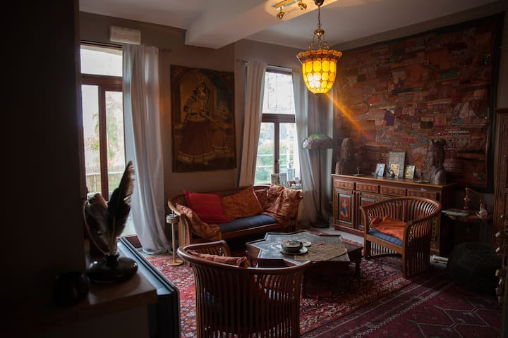 Romantic and stunning stay in front of the castle - Beloeil - Apartemen