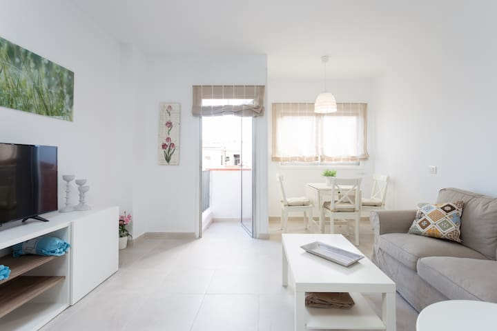 Bright and spacious apartment in the citycenter - Santa Cruz de Tenerife