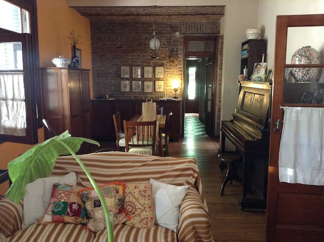 Room in beautiful house with garden ! - Buenos Aires - Hus
