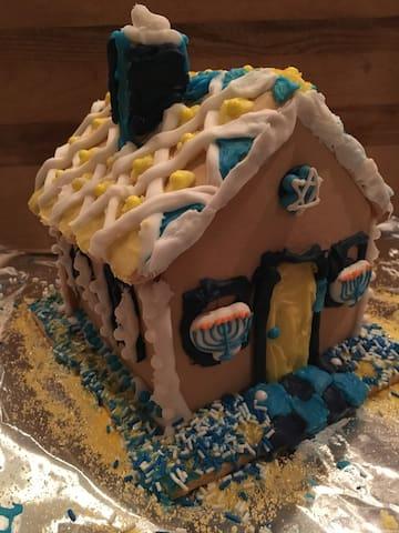 Hannukah House - Morris - Huis