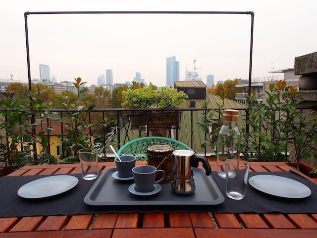 Romantic Panoramic Penthouse - 米蘭