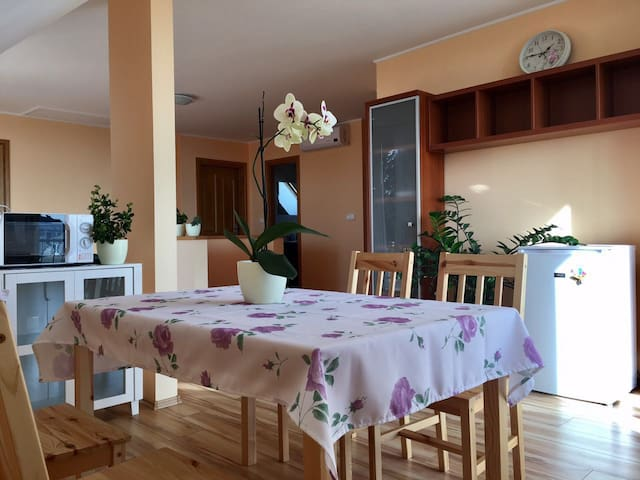 Lake-view family house includes breakfast Rm#201 - Balatonfüred - Huis