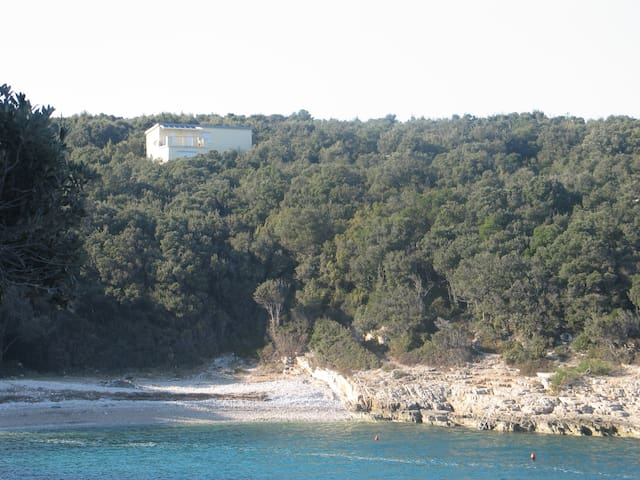 Villa Evelyna in nur 3 Minuten zum Strand - Peruški