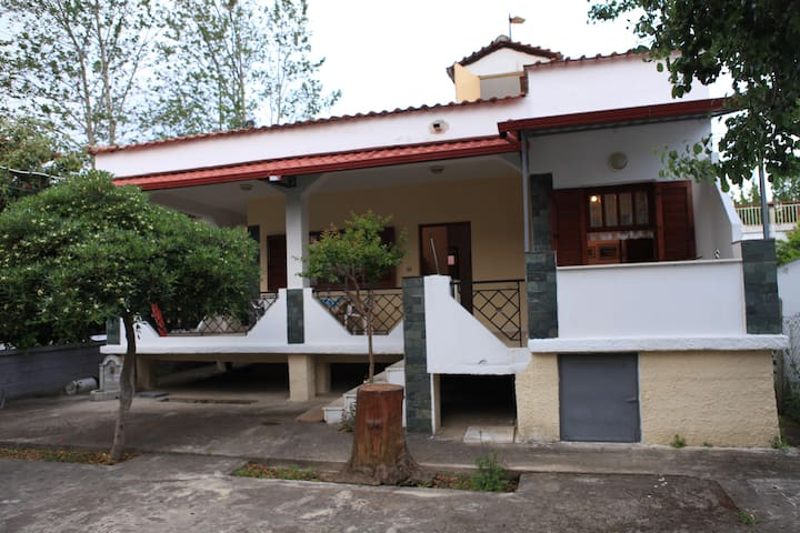 Bertos Private House 500m from the beach - Asprovalta - Maison