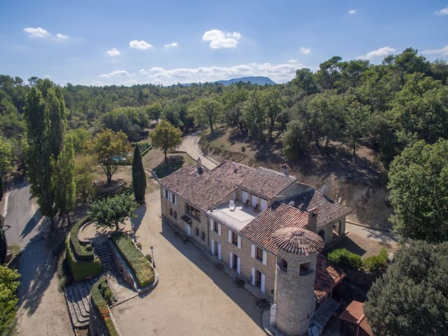 Beautiful Provencal holiday estate - Fox Amphoux - 一軒家