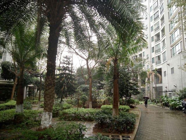 城市风景 交通极为便利,生活设施完善的70平米舒适2+2户型 - Zhuhai - Departamento