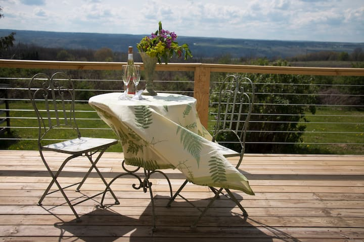 Guest House in the heart of FLX wine country! - Hector - Leilighet