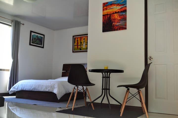Centric, minimalistic and cozy studio in San Pedro - San Pedro - Apartamento