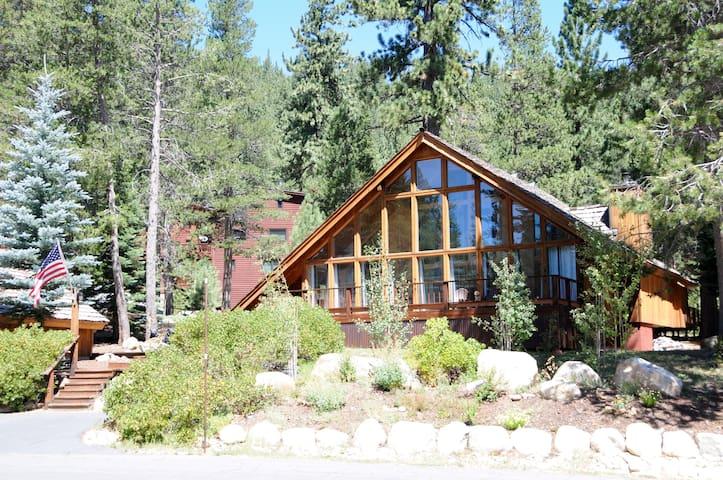 Squaw Valley/Tahoe Chalet Bedroom - Olympic Valley - Alpstuga