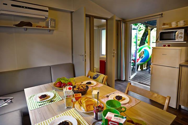 Casa Mobile Leonardo - Salionze - 小木屋