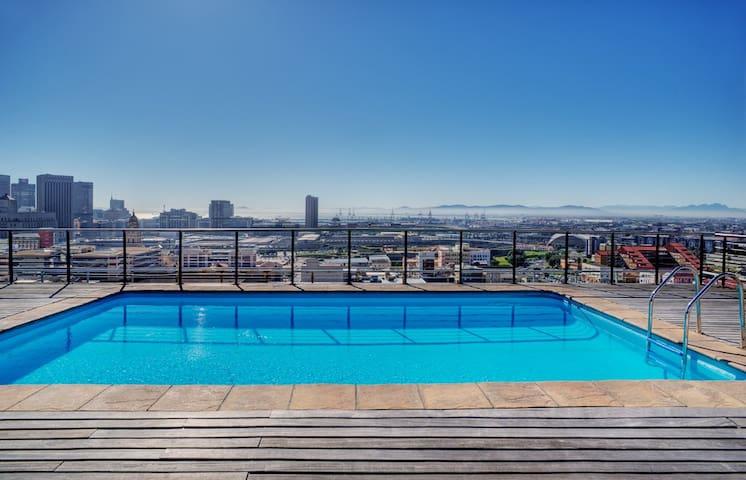 Cape Town,City Centre, Penthouse Floor Apartment - Ciudad del Cabo - Apartotel