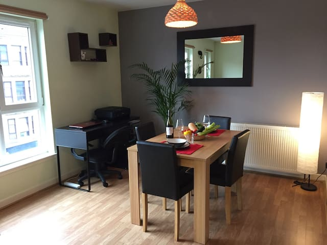 Cosy room at 7min from city centre - Glasgow - Appartement
