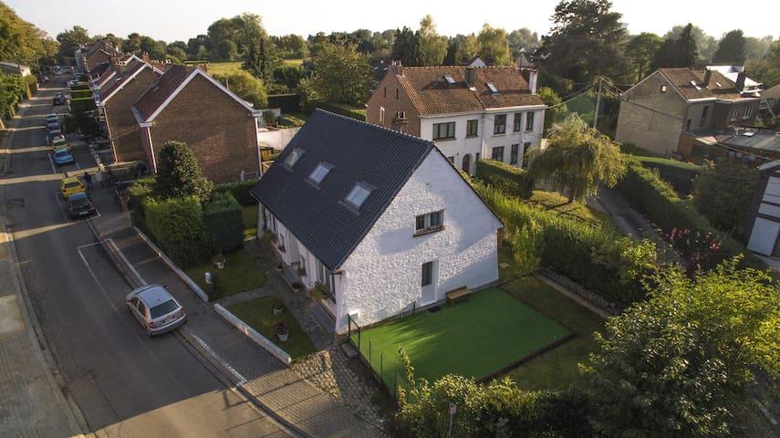 Appartement chaleureux, quartier calme, 12 km BXL - Rixensart - Hus