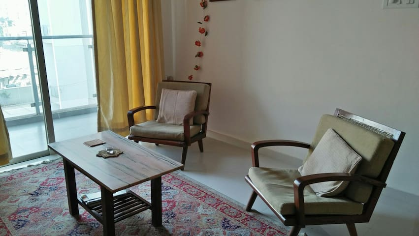 Independent apartment near Ginger hotel, Wakad. - Pimpri-Chinchwad - 公寓