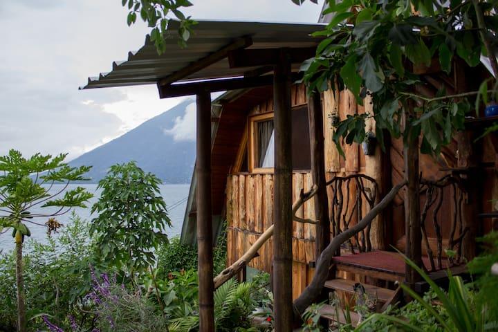 Eco Cottage on Lake Atitlan - San Marcos - Hytte